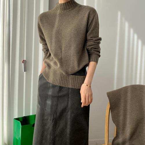 Wholegar slit knit