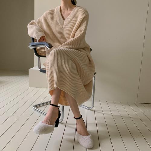 Cafe knit dress