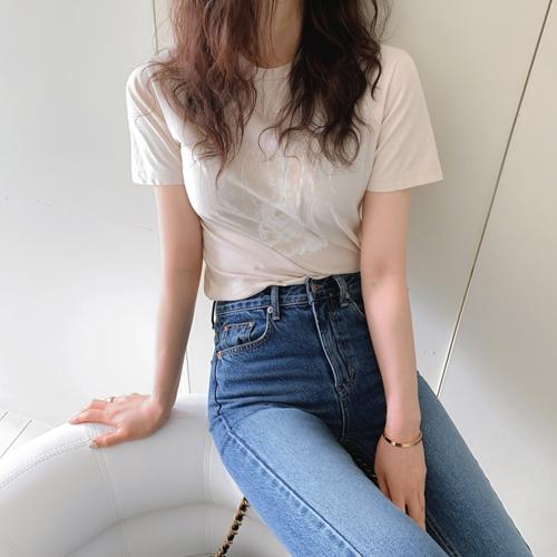 バニープリントTシャツ