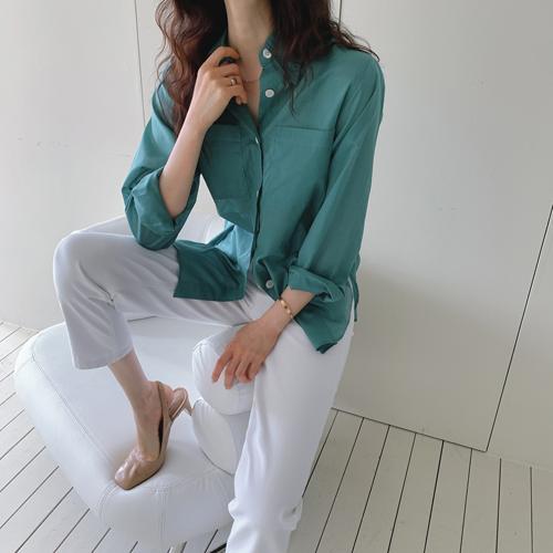 アサポケットシャツ